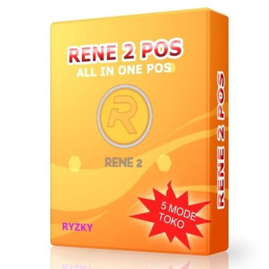Rene 2 New Full Version - Software Kasir dan Keuangan Usaha Windows