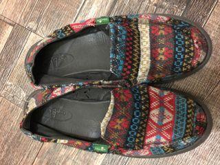 SANUK 懶人鞋 平底 休閒 鞋 拖鞋
