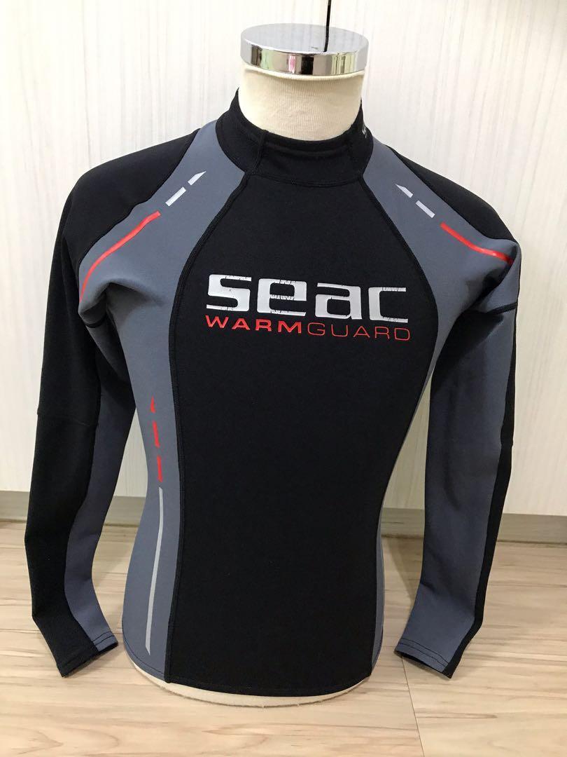 SEAC 潛水 防曬衣/防寒衣 9成新 女用 SIZE S 160-166cm 50-60kg