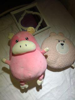 Soft stuffed toys take all