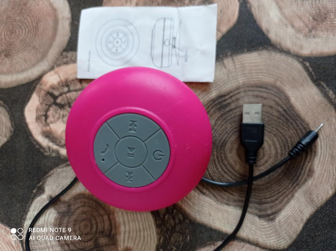 Speaker Waterproof Pink
