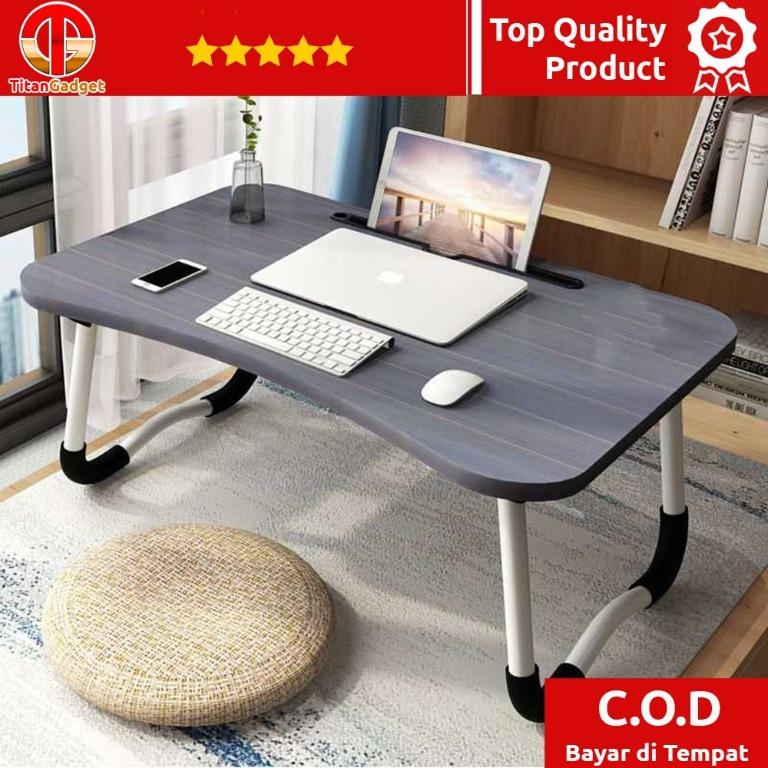 Stand Meja Laptop Lipat Foldable Notebook Desk Table - Z22 TitanGadget