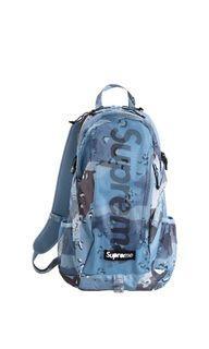 Supreme Backpack Blue Camo