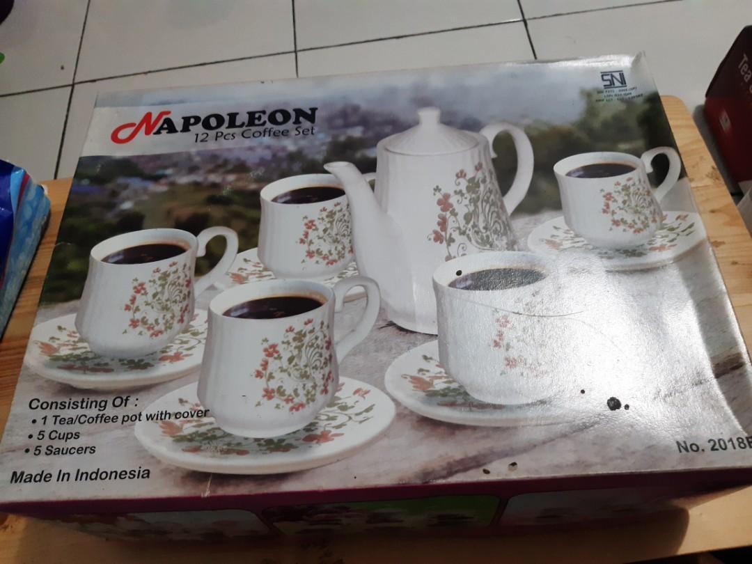 Tea and coffee set Napoleon