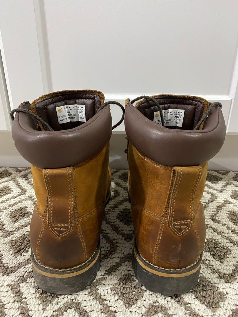 Timberland men boots size US 7.5