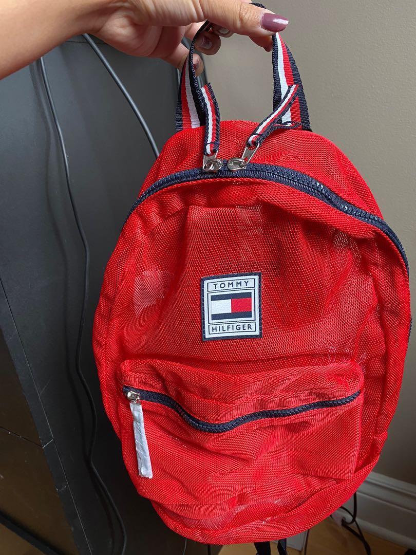 Tommy Hilfiger Mesh Backpack