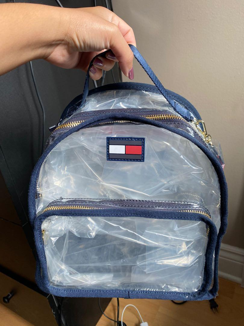 Tommy Hilfiger Transparent Backpack