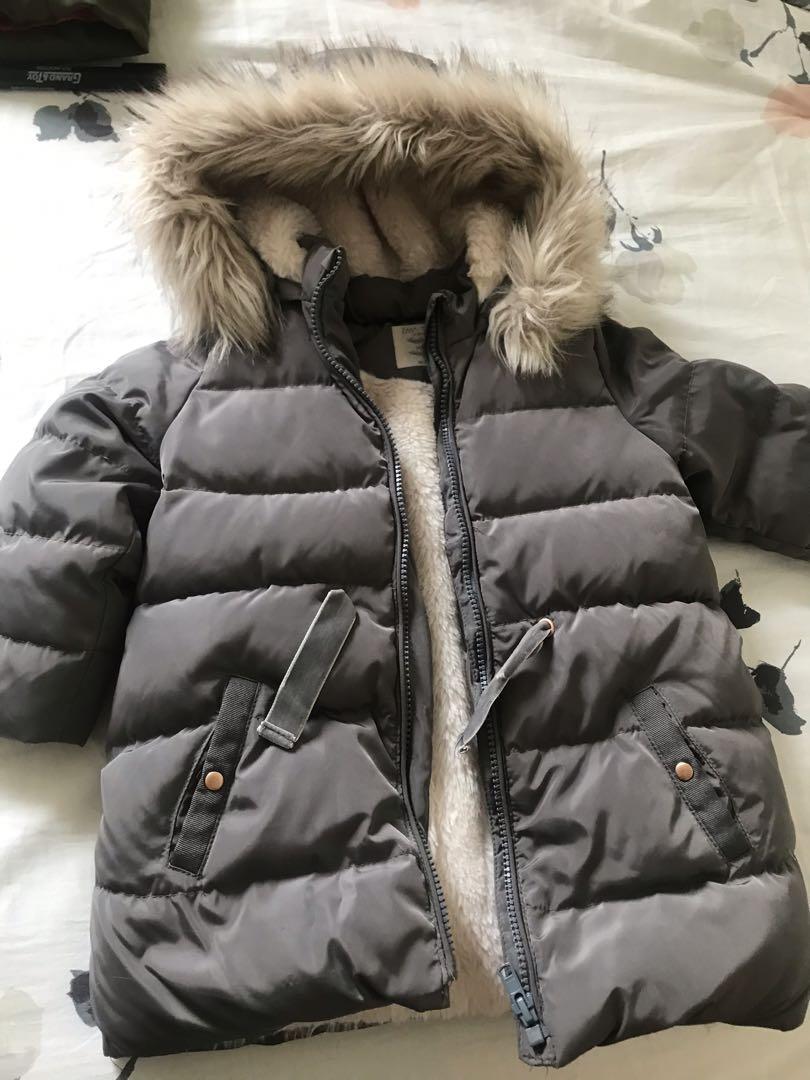 winter Jacket 3 to 4 years Zara brand