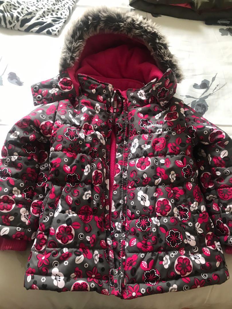 winter jacket size 3 girls