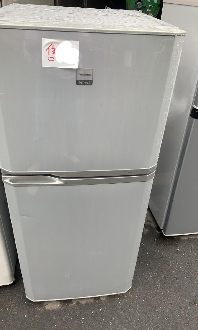 二手中古東芝120公升中小型2門冰箱,保固3個月,line帳號chin0290問大戶藥師