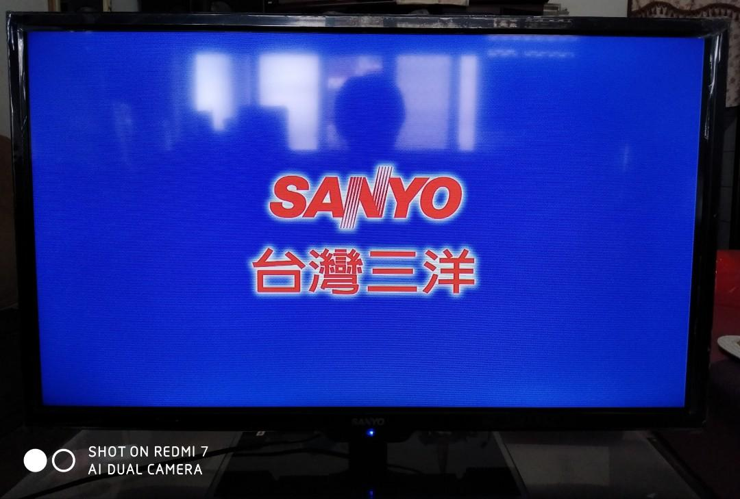 三洋32吋LED液晶電視