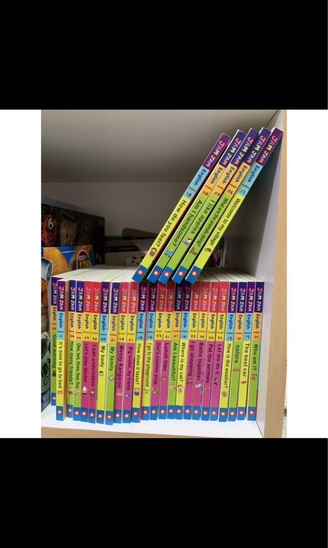 果醬英語 9成新 無點讀筆 可至南門書局購買
