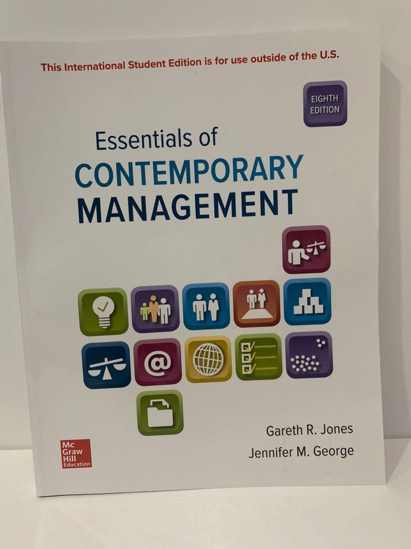 管理學 Essentials of CONTEMPORARY MANAGEMENT