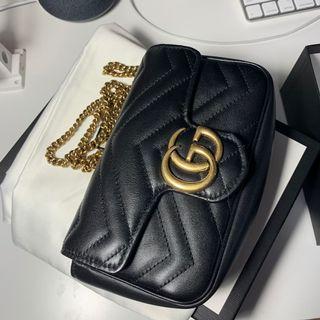 Authentic Gucci Marmont Supermini