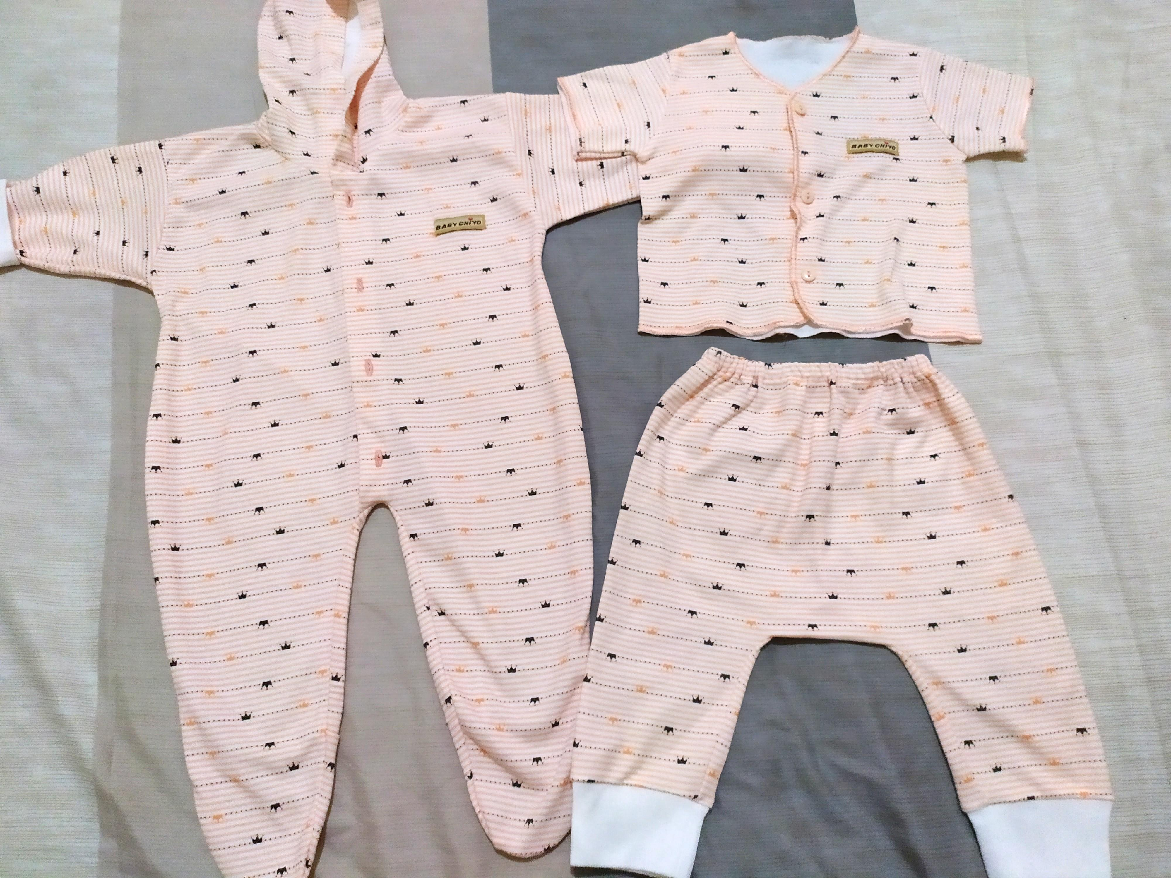 Baby chiyo baju bayi newborn