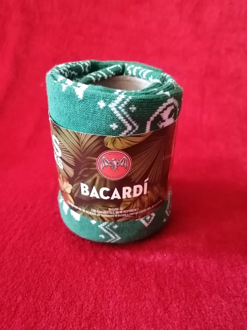 Bacardi Brand Ugly Christmas Socks