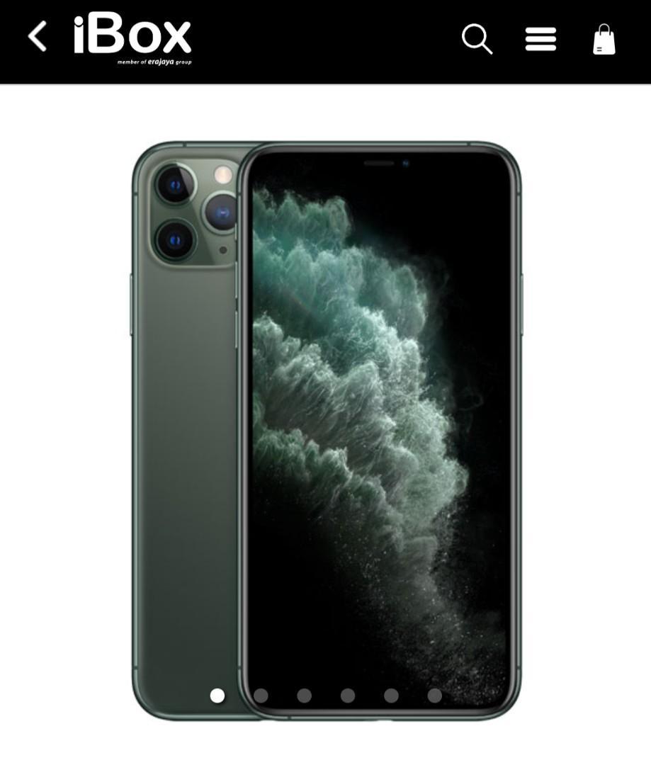 BISA CICILAN *iPhone 11 Pro Max 256GB, Midnight Green*
