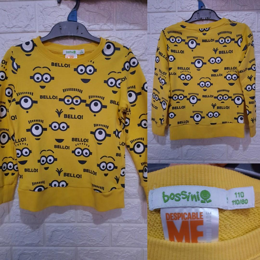 Bossini MINION Original Sweater preloved