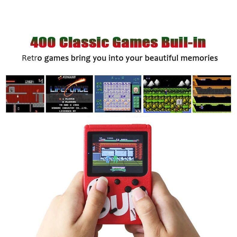 Brand new retro game console - gameboy 400 games in 1 including mario