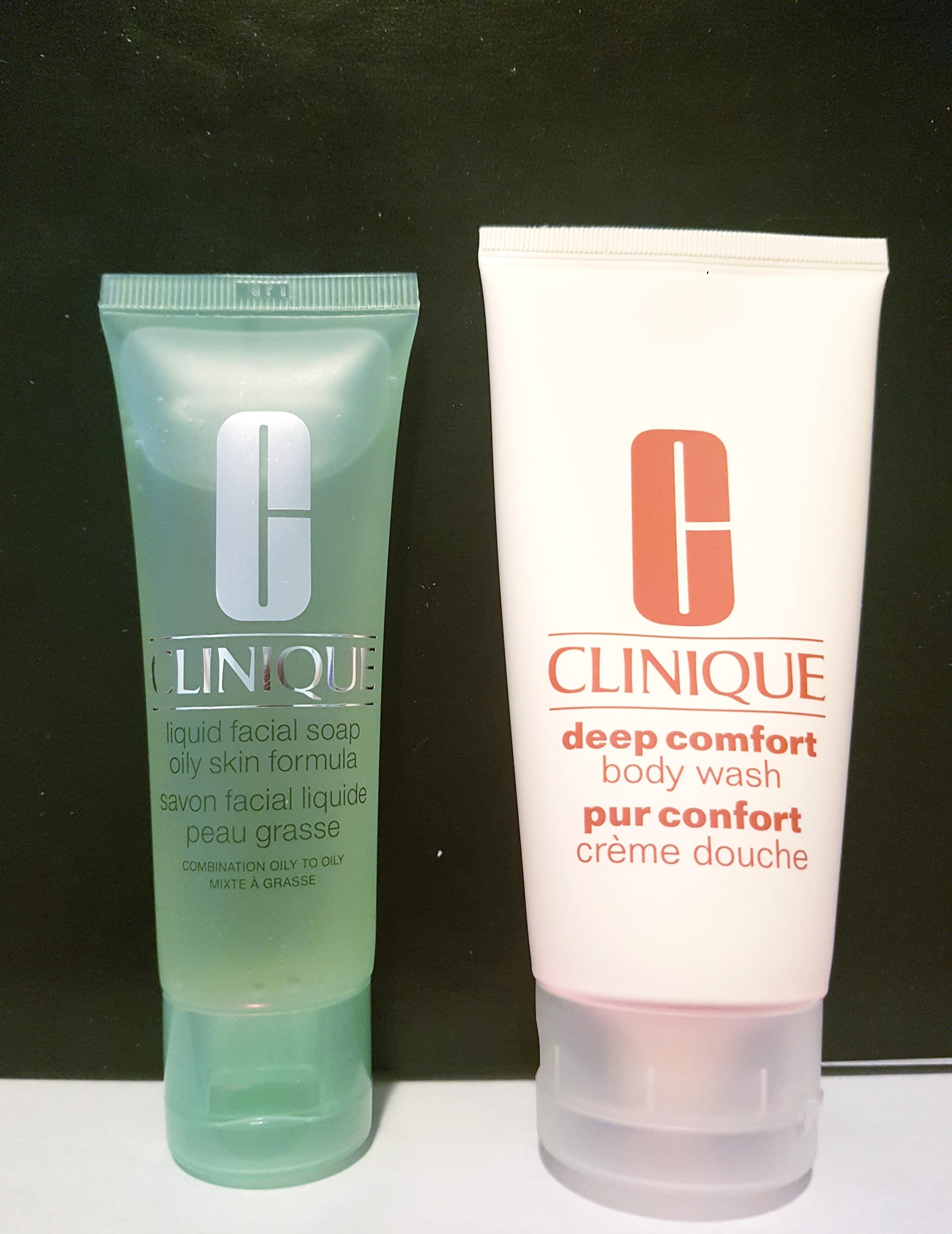 Clinique liquid facial soap + body wash
