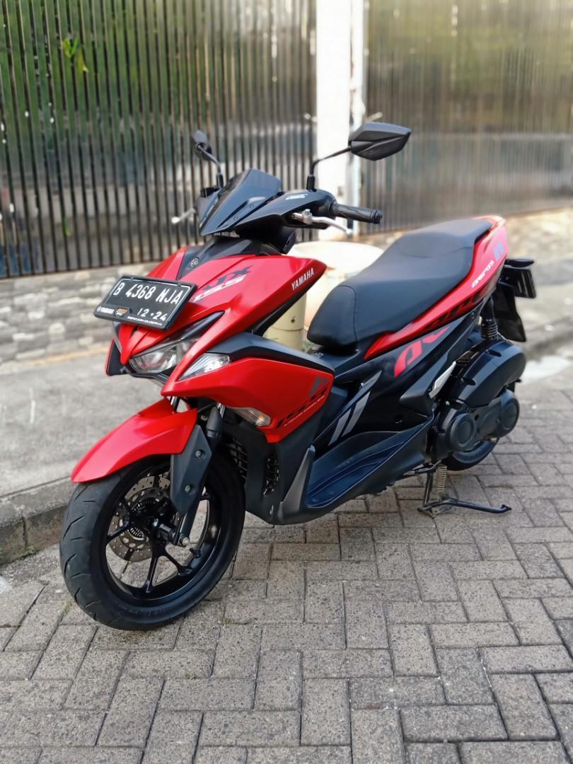 Di Jual Motor Yamaha Aerox 155 Tahun 2019