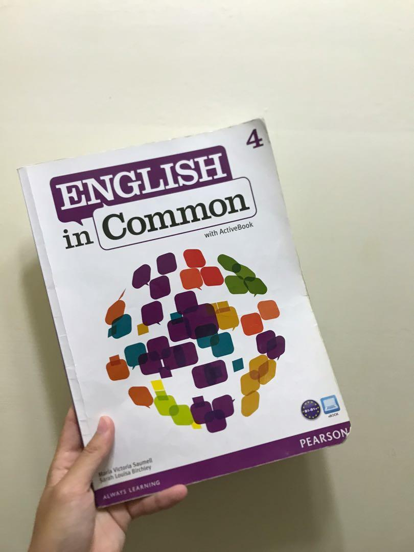English in common 4 and 4B