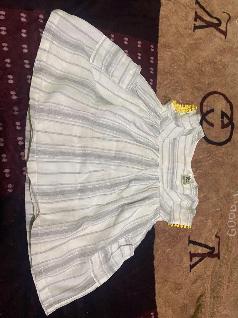 (harga nett) dress baby bgosh 6-9m