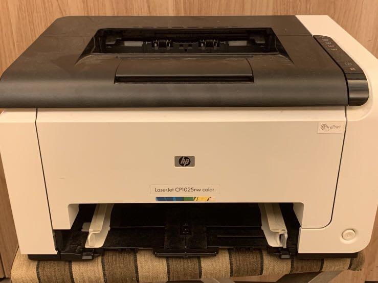 HP彩色雷射列表機