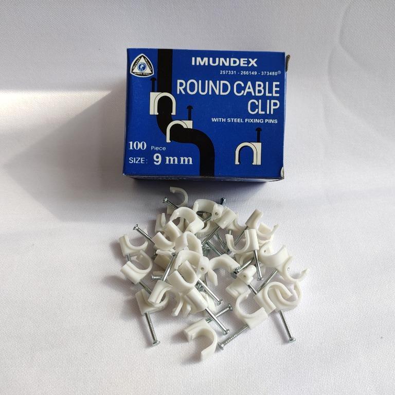 Imundex Klem Clip Kabel Round 9mm