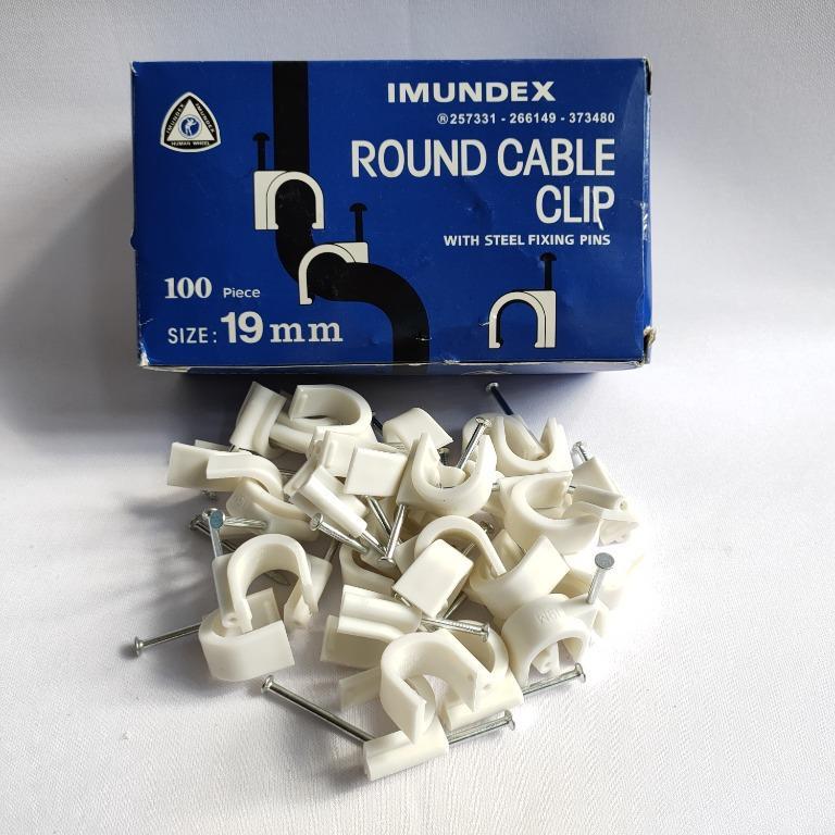 Imundex Klem Clip Kabel Round 19mm