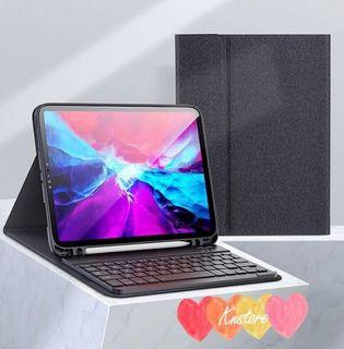 """iPad 7 10.2"""" Smart Keyboard Case with Pencil holder"""