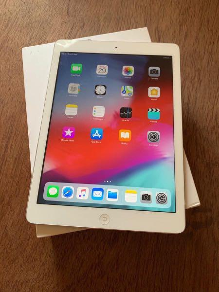 ipad air 1 32gb wifi cell fullset ex ibox Like new bisa Cod