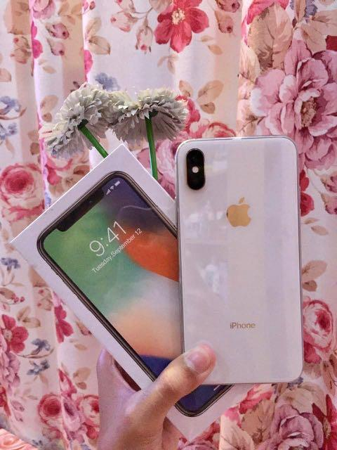 Iphone X White 256 gb