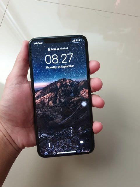 Jual iphone xs max 512 gb space gray