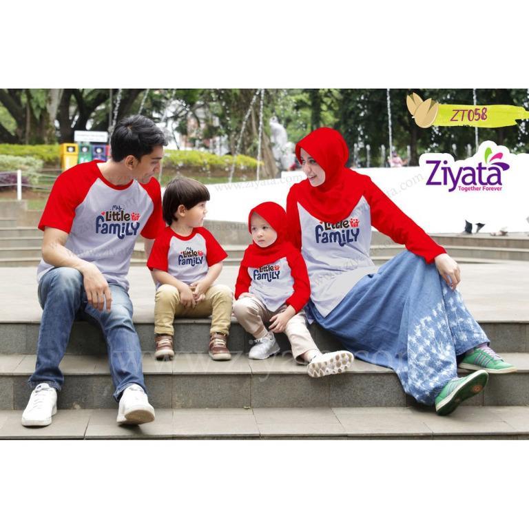 Kaos Couple Ziyata ZT058/Kaos Couple Keluarga Keren-Terbaru-Berkualitas