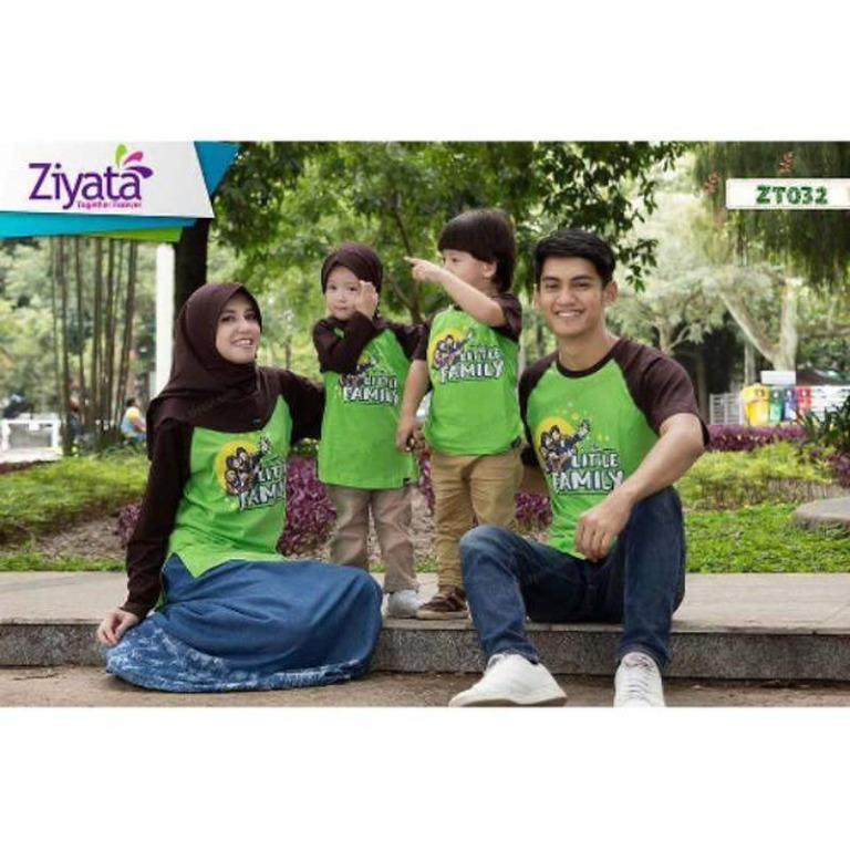 Kaos Keluarga Murah Berkualitas / Produk Ziyata Kode ZT032