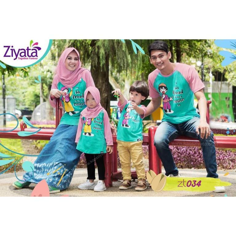 Kaos Muslim Keluarga Kaos Murah dan Terlengkap ZT034
