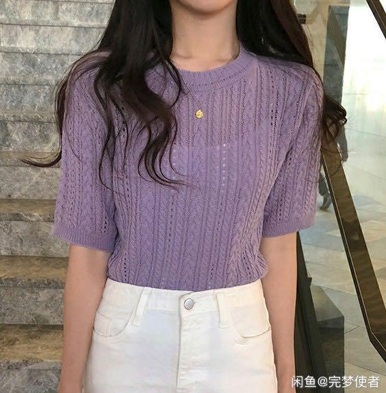 Korea knitwear sweater