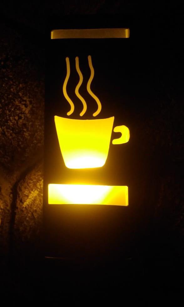 Lampu hias ukir