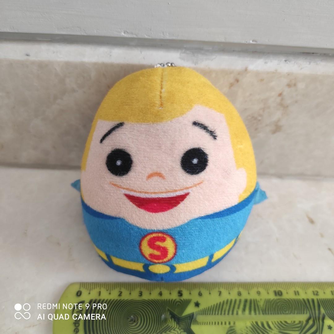 Like New! Boneka Gantungan Kunci Superman hadiah Bakmi GM