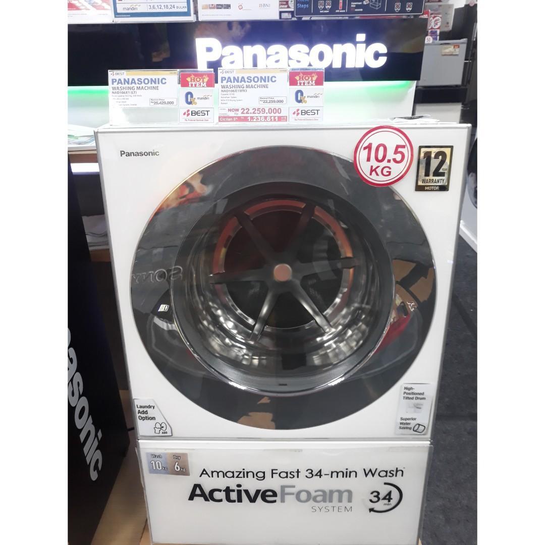 Mesin cuci Panasonic Dicicil Dp 10%