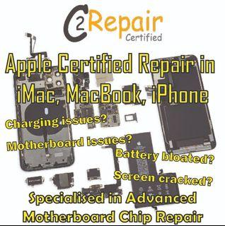 Mobile & Tablet advanced motherboard chip repair and other repair services