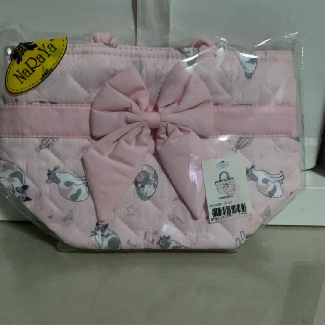 Naraya cute pink cat mini bag