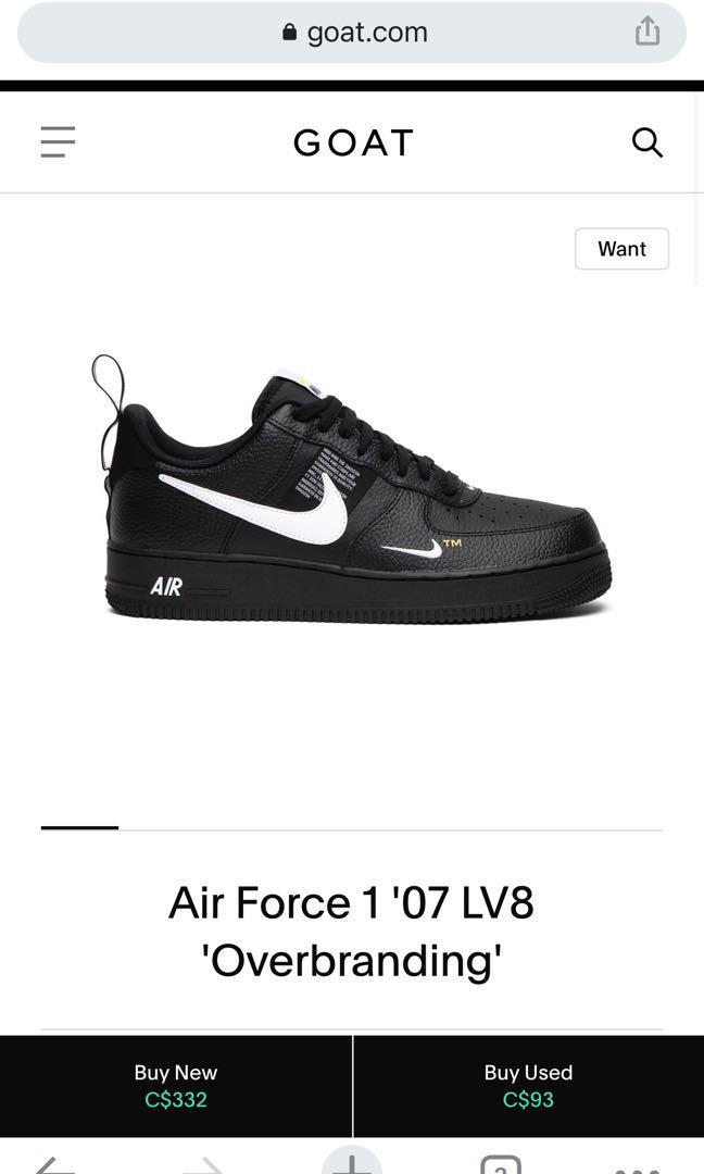 Nike Air Force 1 '07 LV8 'Overbranding'