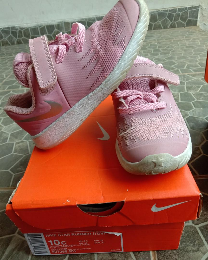 Nike star size 10