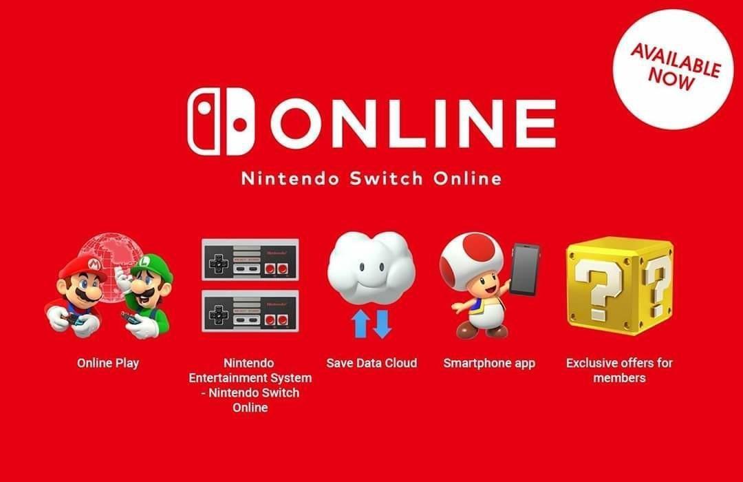 Nintendo switch online subscription 1 year membership