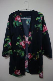 Outer/Outwear/Kardigan Motif Lengan Panjang Wanita/Cewek