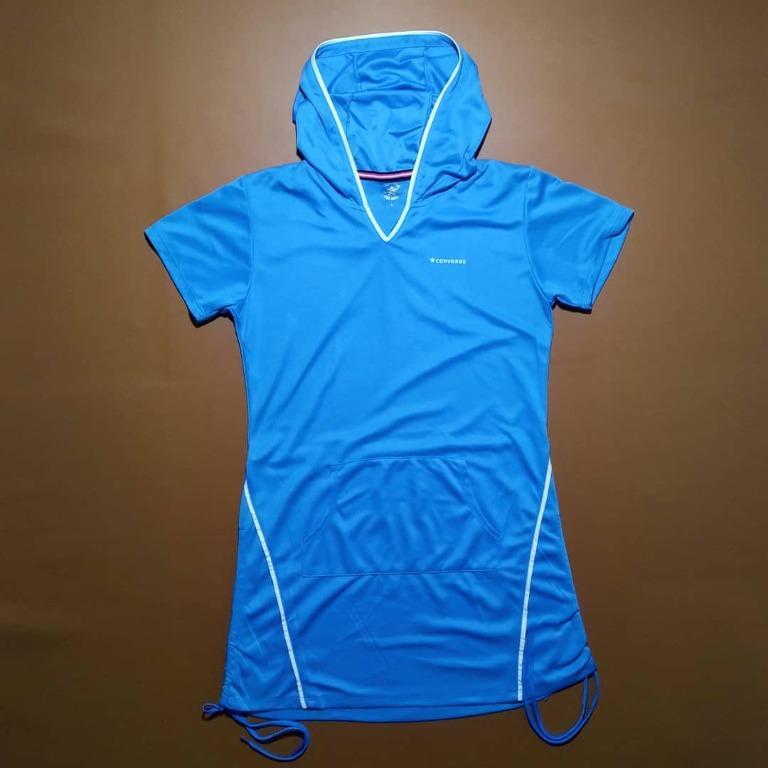 Outter Converse Hoodie Running olahraga pria wanita original import murah