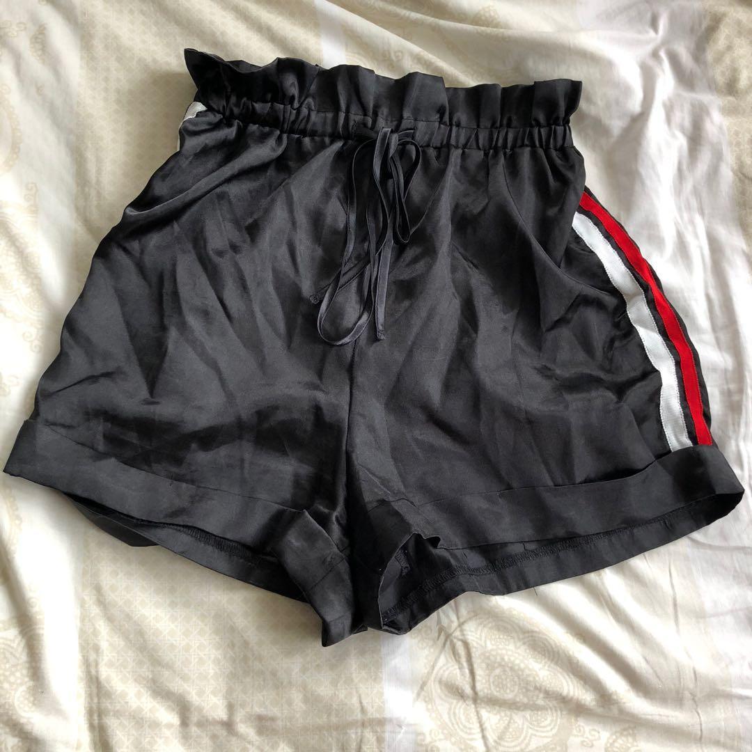 PLT satin shorts