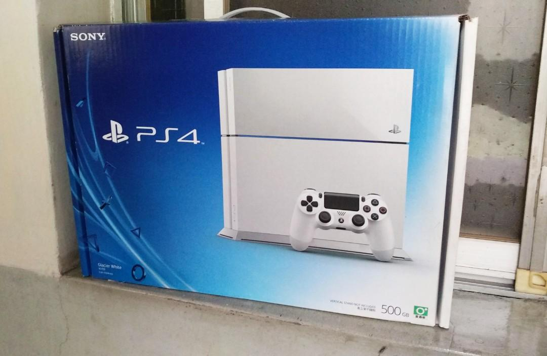 PS4主機 空盒子 PS4 1107  ,  This is an empty box